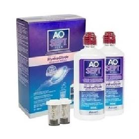 Εικόνα του προϊόντος Alcon AOSEPT PLUS with Hydraglyde 2 x 360 ml with cases